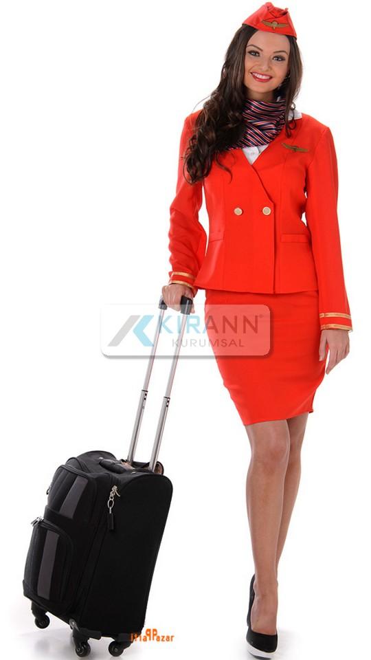 Pilot und Stewardess Outfit